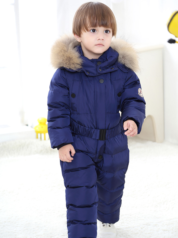 Russian winter coat for girls boys clothes 2 5 years Children's clothing thicken kids winter jacket winter overalls snow wear