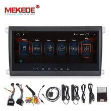 MEKEDE Android 7,1 Автомобильный мультимедийный плеер 2 Дин радио gps для Porsche/Cayenne OBD2 микрофон Bluetooth USB DVR dab Wi-Fi