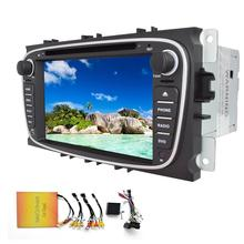 Android 4.4 Car dvd player GPS Navigation for Ford Mondeo 2007 2008 2009 2010 2011 Car radio Stereo Head Unit Autoradio FM wifi