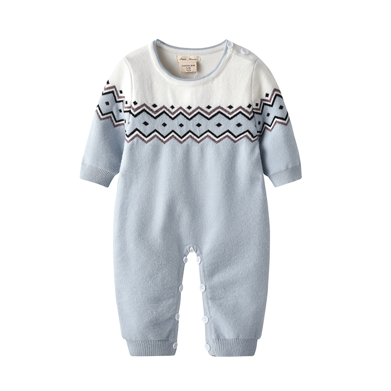 Auro Mesa New Baby Romper with hat Cotton Knitted Jumpsuit Newborn Onesie Coverall Outerwear in Rompers from Mother Kids