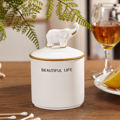 Нордическая Смола слон коробка для салфеток ретро гостиная многофункциональный ящик для хранения пультов дистанционного управления домашнее бумажное полотенце домашний декор - Цвет: D
