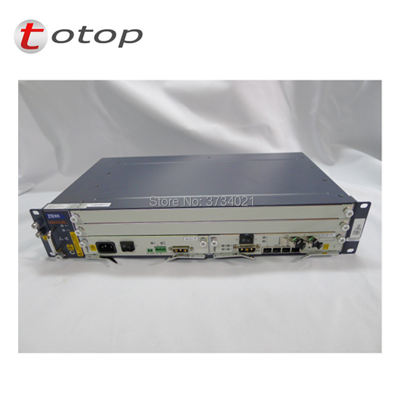 Original GPON OLT ZTE C320 OLT avec 1 * SMXA (1G) + 1 * landau + 16 ports Modules GTGH C + SFP, alimentation ca + ccOriginal GPON OLT ZTE C320 OLT avec 1 * SMXA (1G) + 1 * landau + 16 ports Modules GTGH C + SFP, alimentation ca + cc