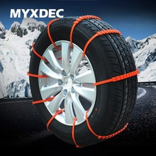 MYXDEC 5/10/20pcs 900mm Car Universal Anti Skid Snow Chains Nylon for Car Truck Snow Mud Wheel Tyre Tire Cable Ties