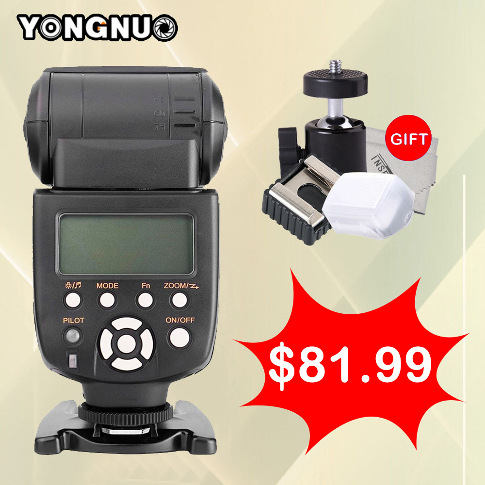 YONGNUO YN565EX YN-565EX Wirelress TTL Flash Speedlite For NIKON d7100 d3100 d5300 d7000 d90 d5200 d7200 d750 d610 DSLR Camera elemax sh 5300 ex r