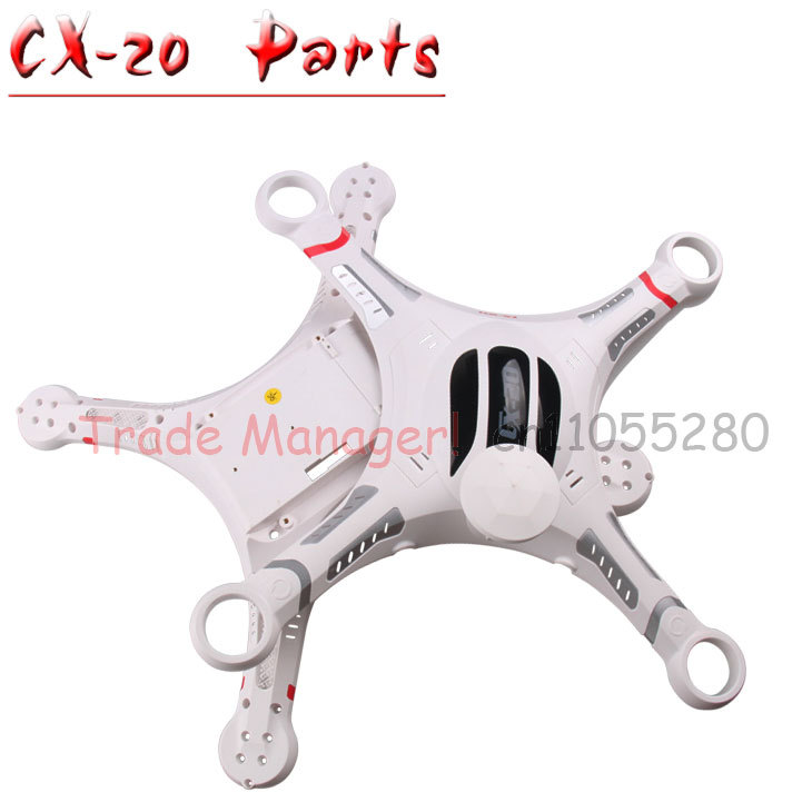 Free shipping CX-20  Axis UAV Accessories head cover cx-20-022 parts Body Shell Cover kit for rc Helicopters from Manufacturer free shipping body shell cover set frame chassis for cheerson auto pathfinder cx 20 rc drone quadcopter parts helicopter