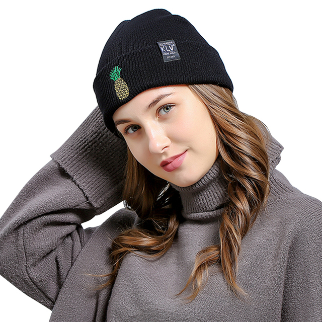 New Fashion Unisex Winter Hat Women Man Hat Skullies Beanies Warm Hat  Knitted Cap Hats For 6ee9ea59528