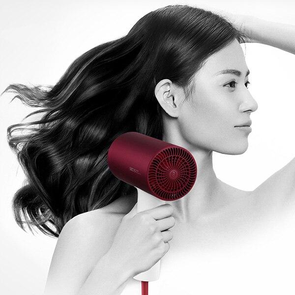 Новый Xiaomi Soocas H3S Анион Фен Быстрая сушка волос градусов вращающийся 360 сушилка воздуха выход анти-горячий инновационный диверсии дизайн
