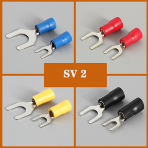 100pcs Wire connector Fork Spa