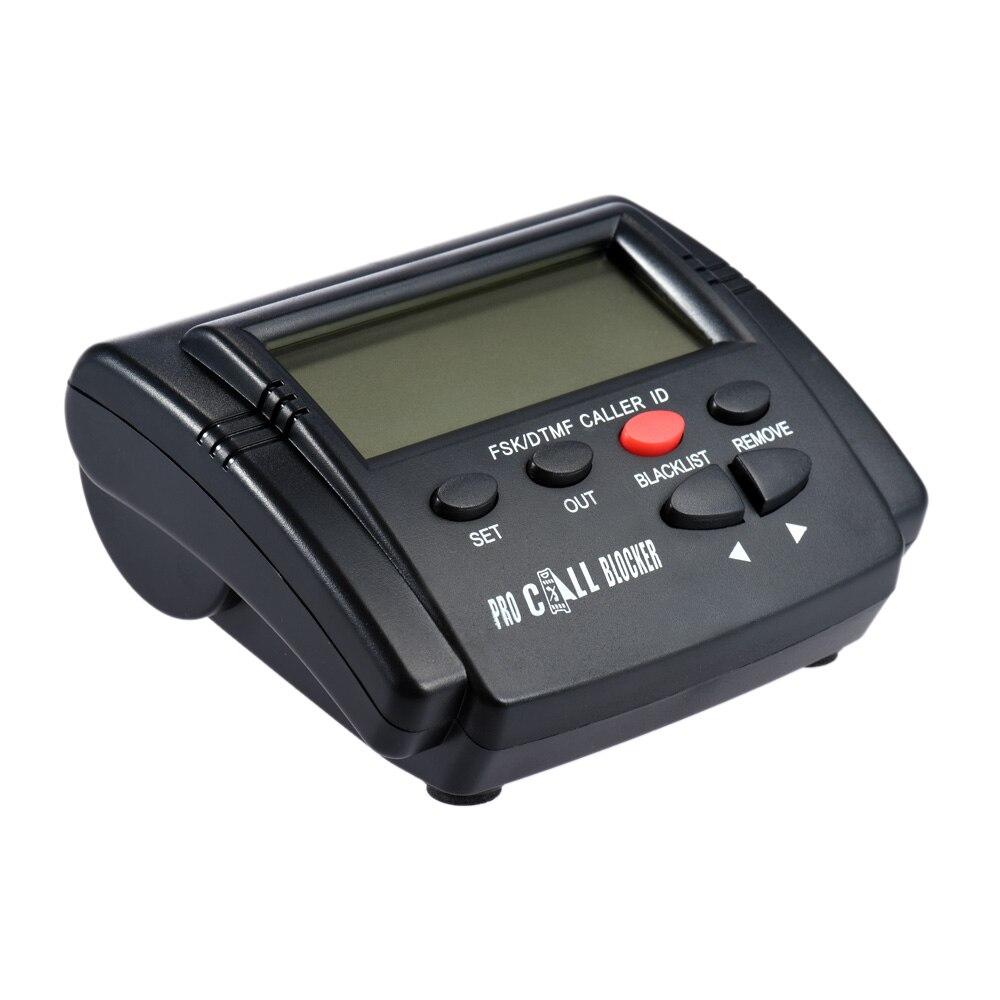 CT-CID803 Caller ID Box Call Blocker Arrêter Appels Malveillants Dispositifs Call ID Abattage Tous Les Appels pour Fixe Téléphones résidentiels Téléphone Fixe