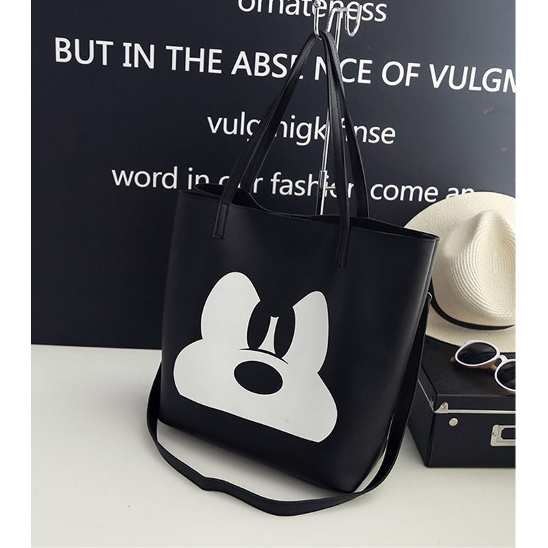 894ef924f6 Buy black mickey bag and get free shipping on AliExpress.com