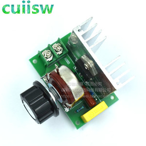 4000W AC 220V SCR Voltage Regulator Mayitr Adjustable Power Supply Board Speed Control Dimmer for Brush Motor Electric Iron(China)