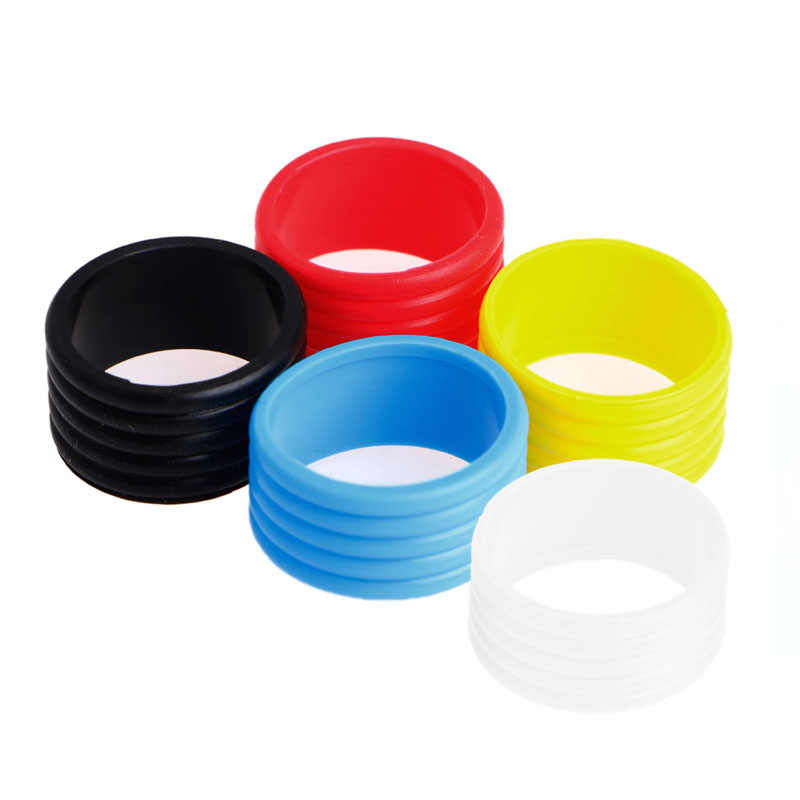 Silicone ring New Stretchy Tennis Racket Handle's Rubber Ring Tennis Racquet Band Overgrips