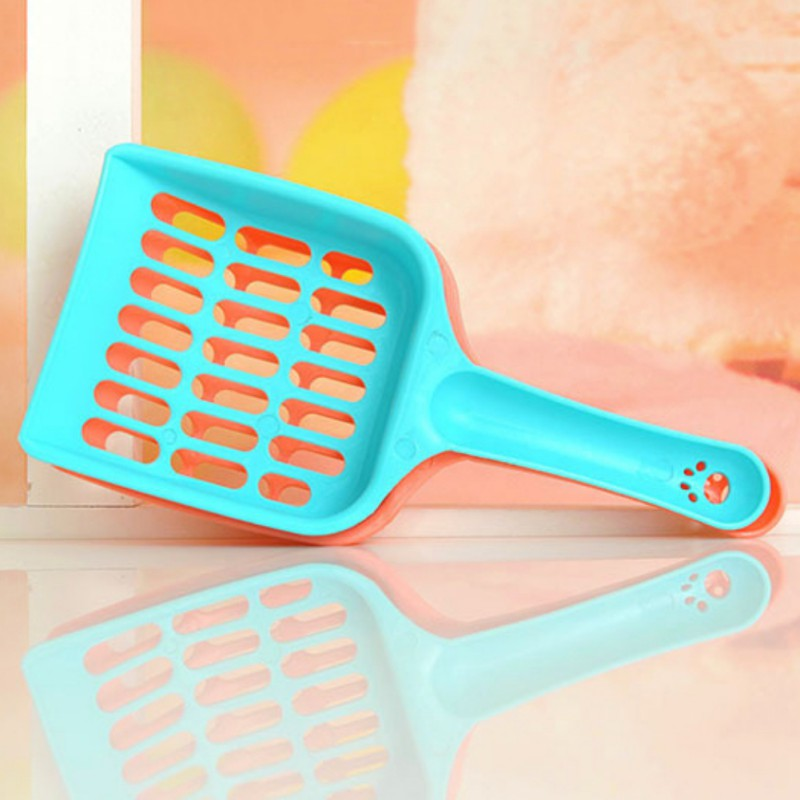 New 1 Pcs Useful Cat Litter Shovel Pet Cleanning Tool Plastic Scoop Cat Sand Cleaning Products Toilet For Pet Dog Food Spoons Y6 #3