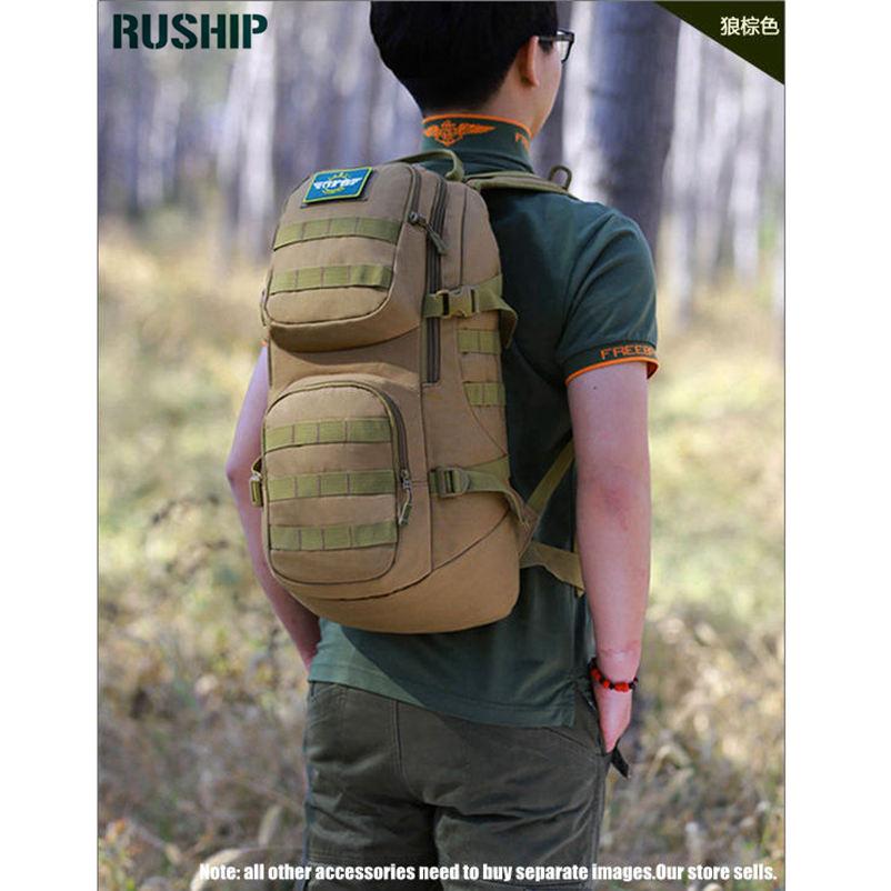 Military 35L Nylon Backpacks Multi-function Men Travel Bags Large Capacity Military Waterproof Nylon Tourism Backpacks