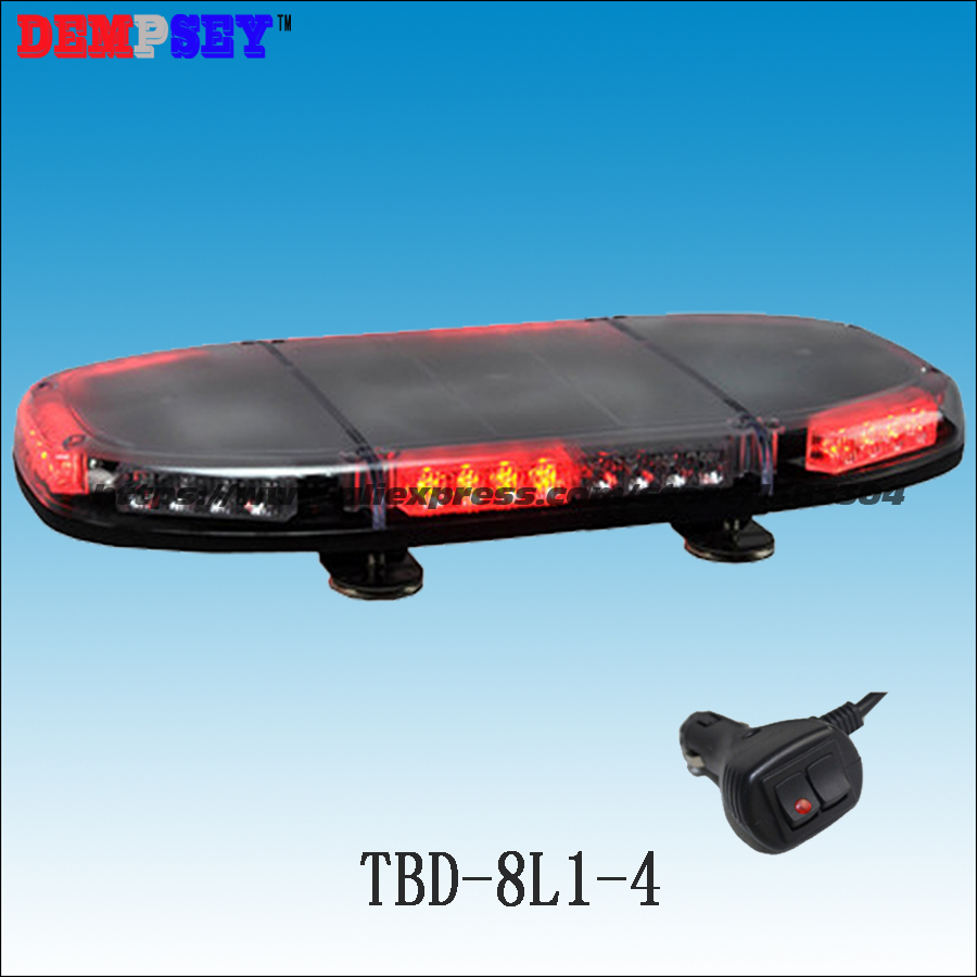 TBD-8L1-4 High quality LED mini lightbar, Car Roof Flash Strobe warning Light,DC12V/24V Fire emergency light,cigar light switch a975got tbd b a975got tba ch a975got tbd ch touch pad