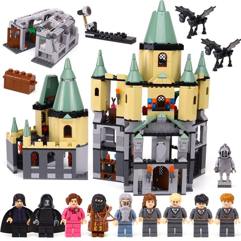 1033Pcs Movie Series The magic hogwort castle set Legoingly 5378 Building Blocks Bricks Educational Toys for Children Gift Model