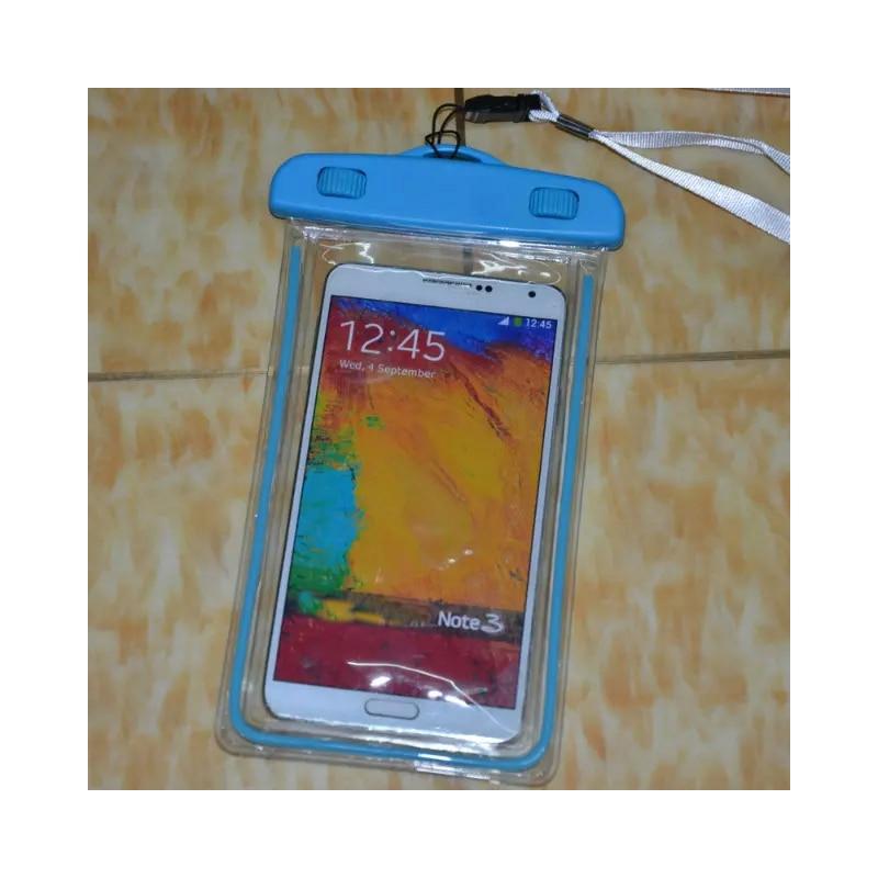 Nado impermeable bolsa bajo el agua luminosa para Samsung Galaxy Note - Accesorios y repuestos para celulares - foto 5