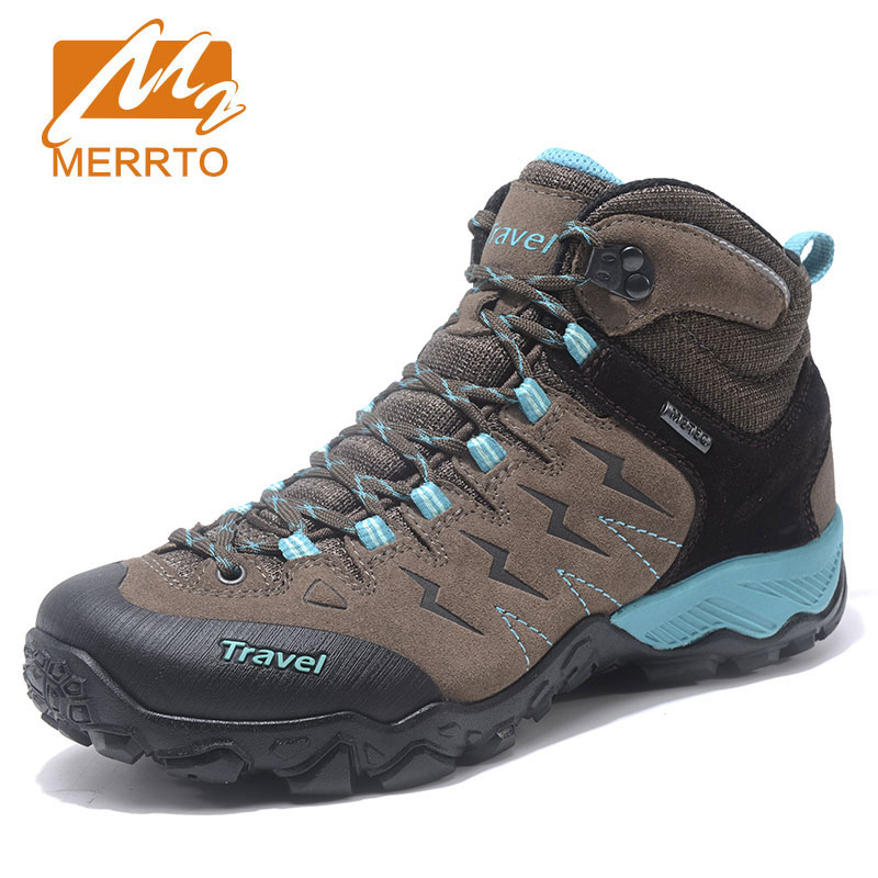 MERRTO Women's Hiking Shoes New Outdoor Sports Shoes Non Slip Wear Resistant Climbing Shoes Breathable Comfortable Walking Shoes 2016 new couple hiking shoes breathable non slip outdoor sports shoes large size climbing shoes for men and women