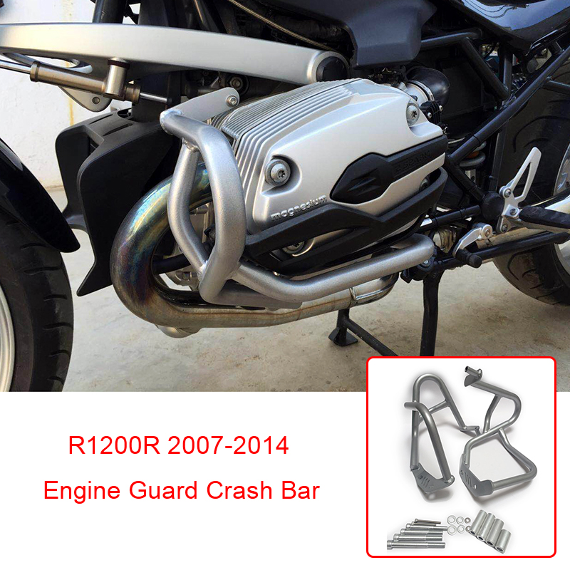 Motorcycle Engine Crash Bar Protetive Guard Protector For BMW R 1200 R R1200R 2007 2008 2009