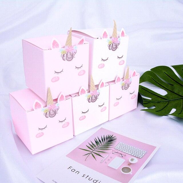 Unicorn DIY Candy Paper Box