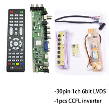 цена на D3663lua ds a8 universal led tv board Digital Signal DVB-C DVB-T/T2 LCD LED TV Controller Driver Board full kit for 15.6