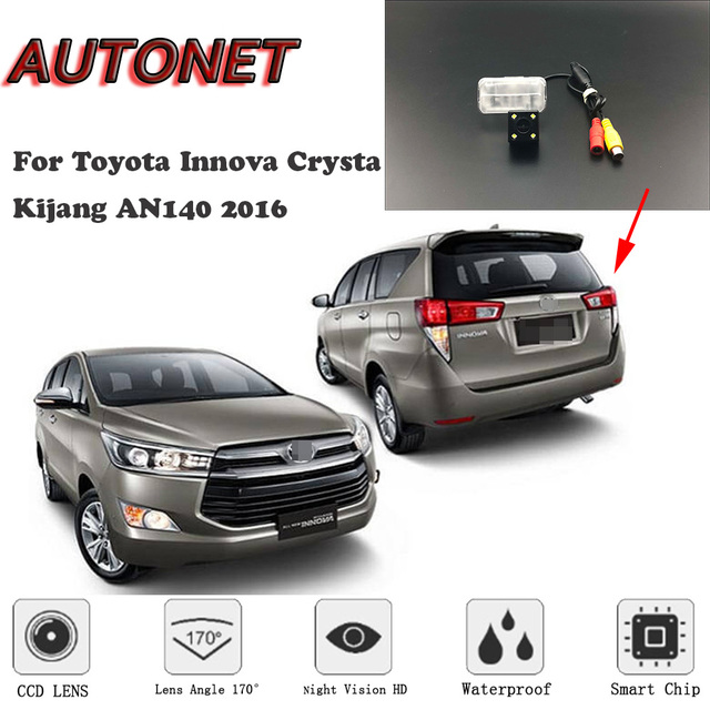 Autonet Hd Night Vision Backup Rear View Camera For Toyota