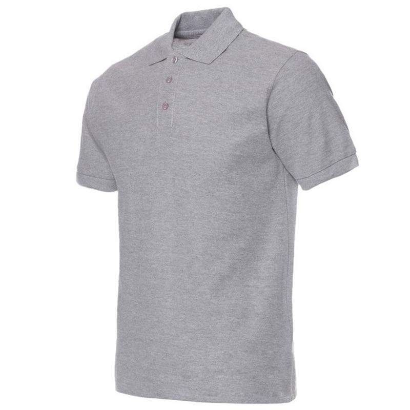 2018 Férfi pólók Férfi Fekete polo pólók Camisa Férfi férfiak - Férfi ruházat