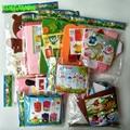 9 Designs/lot DIY Non-Woven Felt Fabric Craft Kits Flowerpot Greeting card Wind Chimes DIY handicraft for Kids Educational Toys