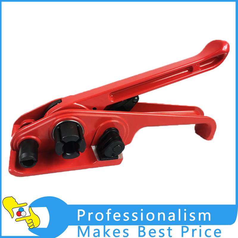 Manual PET PP Strapping Tensioner Tool Manual Packing Tool portable electric battery powered plastic strapping tool friction welding strapping machine for pp or pet strap