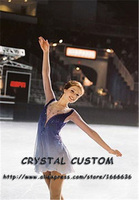 Custom Figure Skating Dresses For Women With Spandex Graceful New Brand Figure Skating Competition Dress Girls DR2701