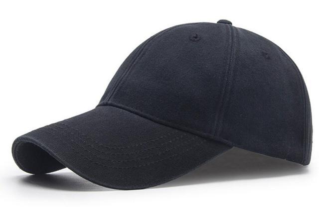 6pcs Vintage Black Soft Washed Cotton Baseball Cap for Men Spring Autumn  Women Blank Unstructured Base Ball Caps Wholesale Hats 2358b5a5b97