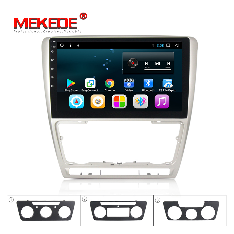 1024*600 Quad core allwiner T3 16 2g + g Android 7.1 Estéreo Do Carro DVD para Skoda Octavia 2010 2011 2012 2013 a5 sistema multimídia