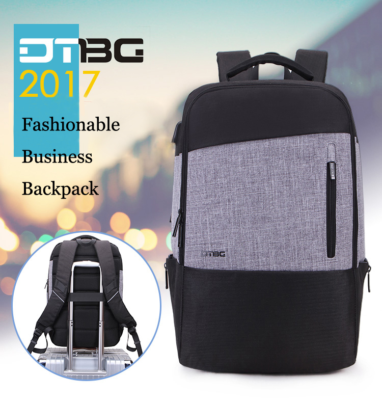 d2c7754f8735 DTBG Brand 2018 New Backpack Patchwork Men Smart Bags With USB Charging Port  Large Capacity Anti Theft Waterproof School Mochila