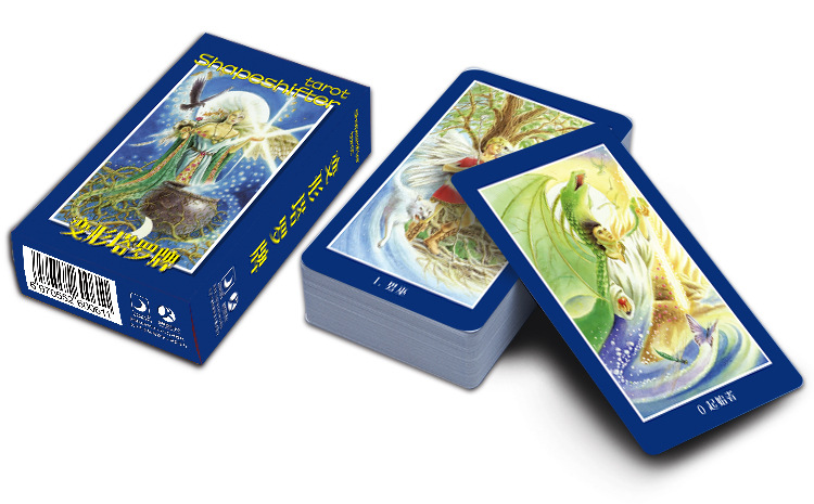 Shapeshifter Tarot Cards Factory Made High Quality Tarot Card With Colorful Box, Cards Game, Board Game