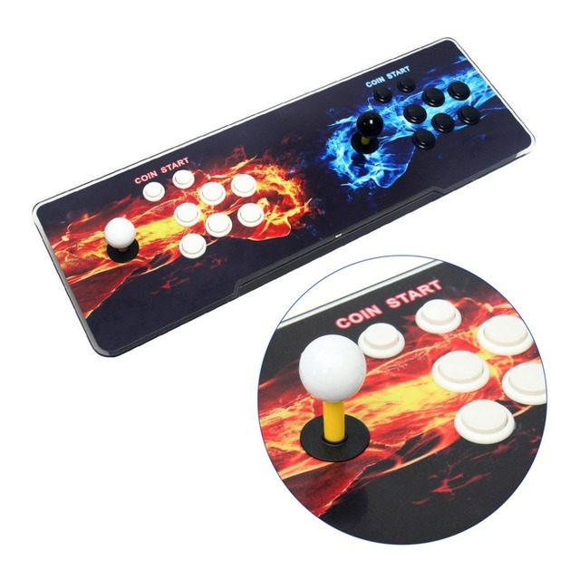 800 Games Home Multiplayer Arcade Game Console Kit Set Double Joystick Children Game Console For Home Party TV Bar 2