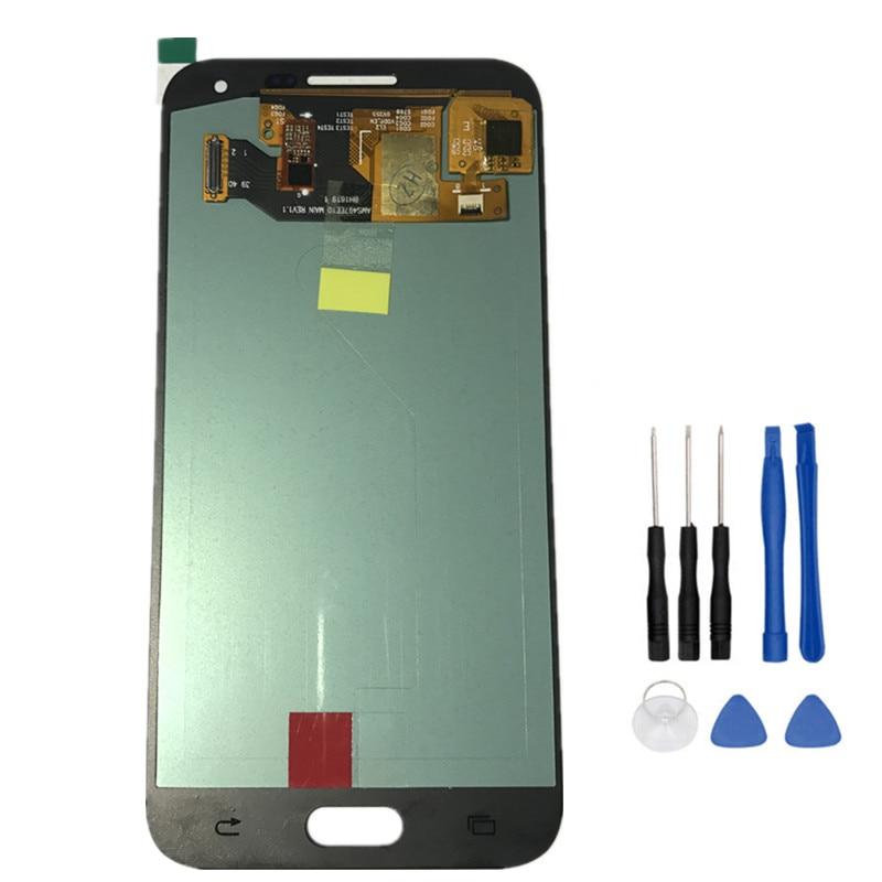Coreprime 100% Super AMOLED Сенсорный экран планшета + ЖК-дисплей Дисплей для Samsung Galaxy A5 2015 A500 A500F A500M + Инструменты