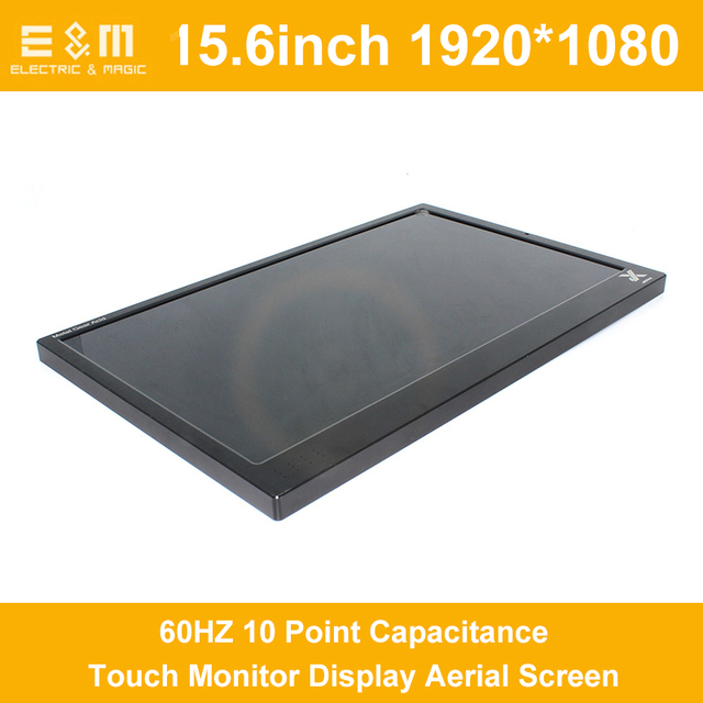 15.6 Inch 1920x1080 IPS 10 Point Capacitance Touch Monitor Display Aerial Screen LCD Module AD TV HDMI Raspberry Pi Xbox PS4