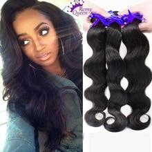 7A 3 bundles Peruvian virgin hair body wave Rosa hair products 100 Virgin human hair extension