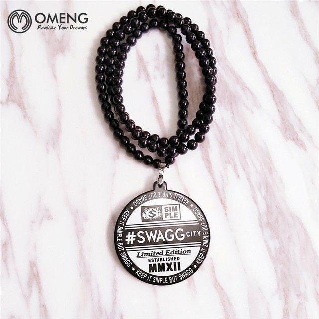 Omeng acrylic weed good wood collares hip hop men women colorful omeng acrylic weed good wood collares hip hop men women colorful swagg pendants necklaces maple black mozeypictures Images