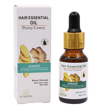 1PC 18ml Ginger Hair Growth Anti Hair Loss Liquid Promote Thick Fast Growth Treatment Esse