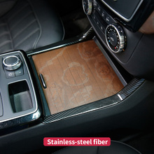 Автомобиль Центральной Консоли сбоку Планки Рамка для Mercedes Benz ML320 350 2012 GLE W166 купе c292 350d GL450 x166 GLS amg аксессуары