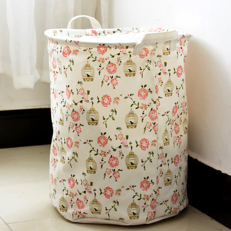 Zakka Laundry Basket Toys Storage Bag Foldable Picnic Bucket Baby Room  Decor In Storage Baskets From Home U0026 Garden On Aliexpress.com | Alibaba  Group