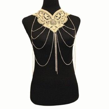 Lace Choker & Body Harness 3