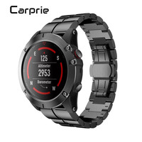 High Quality Hot Sale Genuine Stainless Steel Bracelet Quick Release Fit Band Strap For Garmin Fenix