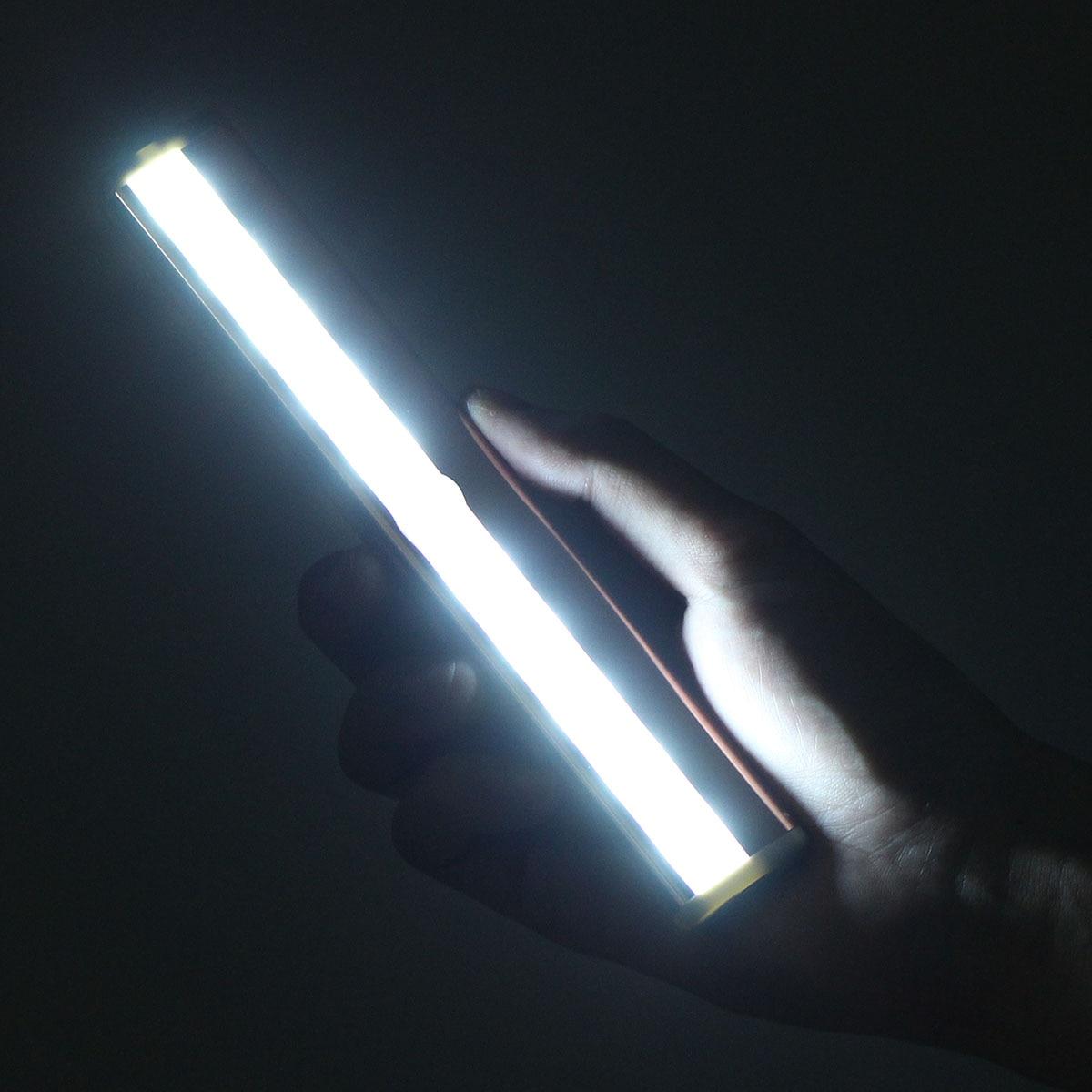 10 LEDs Automatic PIR Sensor Motioon Kitchen Under Cabinet Light Led Night Lights Wardrobe Cupboard Cabinet Lighting Lamp