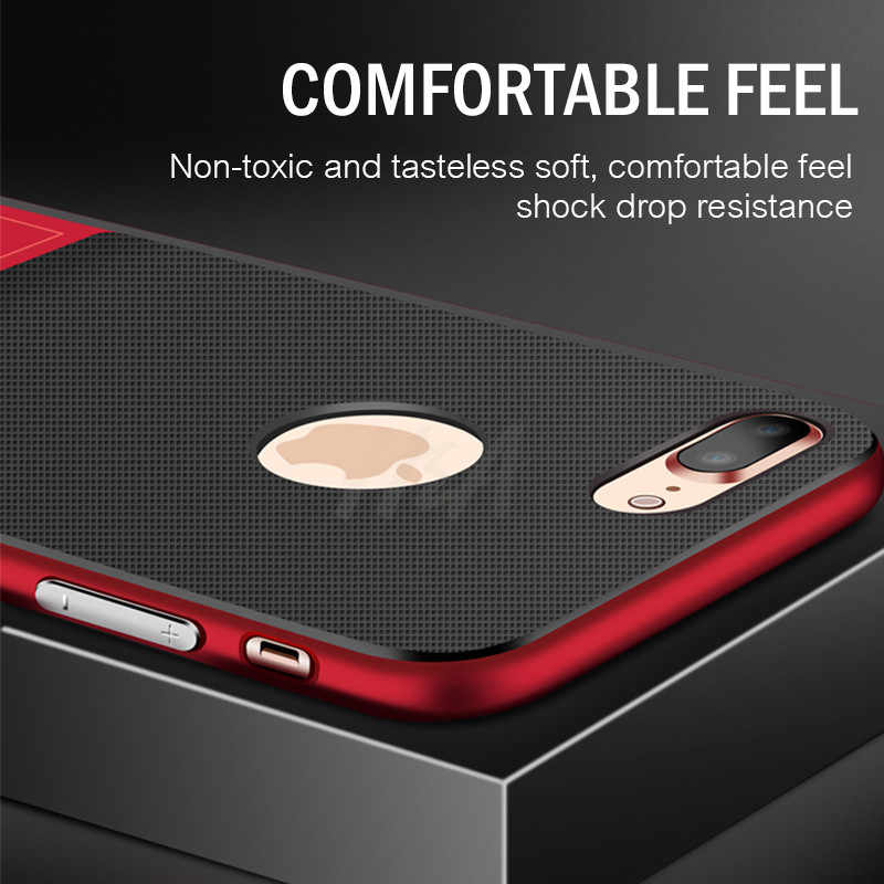 H&A Luxury Holder Phone Case For iPhone 6 6s 7 8 Plus Full Cover Shockproof Cover For iPhone X XS Max XR 10 Kickstand Cases Capa