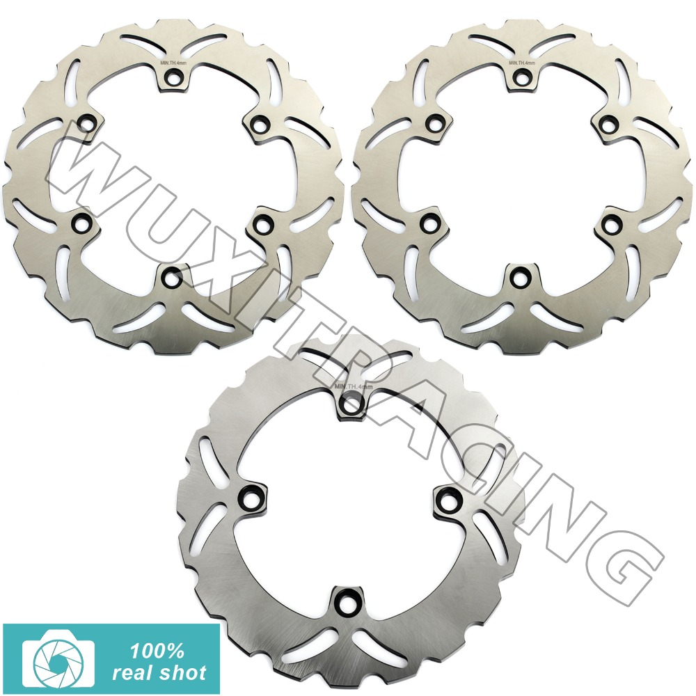 1991 1992 1993 1994 New Front Rear Full Set Brake Discs Rotors Disks fit for Honda CBR 600 F SuperSport PC25 F648 91 92 93 94 silicone hose for mitsubishi eclipse pse gst gsx turbo 1990 1994 1993 1992 1991