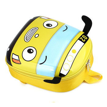 Cute Bus School Bag Backpack for Kids Children in 4 Colors 2