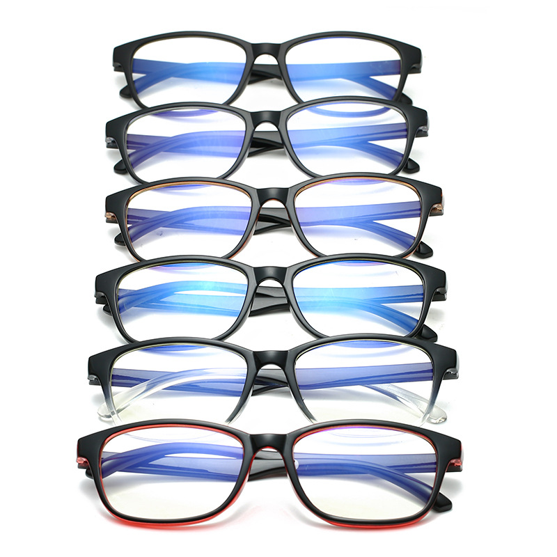 Women-Men-Anti-blue-Light-radiation-Protection-TR90-frame-Computer-Glasses-Flat-Mirror-retro-ultralight-optical