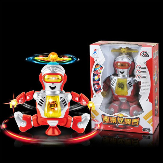 High Quality Fashion Electronic Walking Dancing Smart Space Robot Astronaut Kids Music Light Toys Best Gift Free Shipping